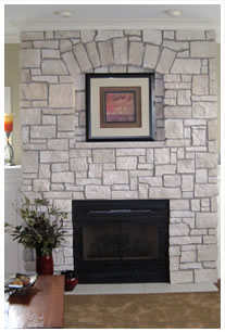 Mike Kroc Construction - Custom Great Room Fireplace
